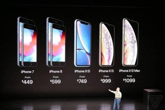 苹果发布三款iPhone一款手表 号称A12芯片迄今最智能