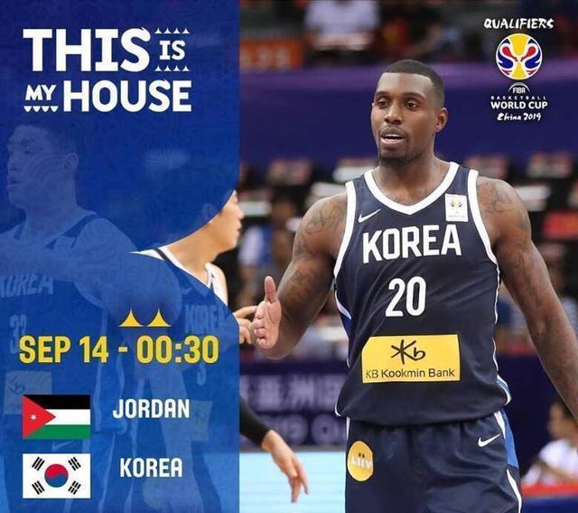 男篮世预赛-阿巴斯领衔 约旦队主场阻击韩国?