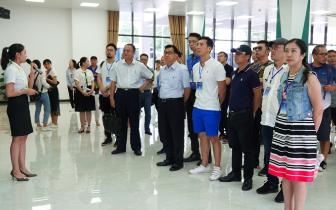 80余名台湾青年企业一行走进琼中 考察交流