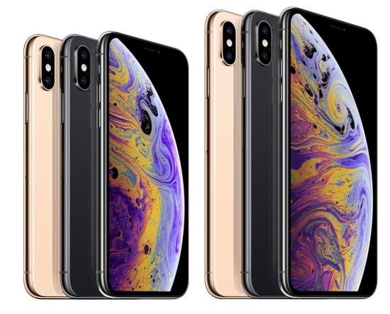 iPhone XS有三种机身配色,容量64GB/256GB/512GB