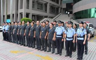 香洲法院出动干警30人 一天抓了8人!只因他们…