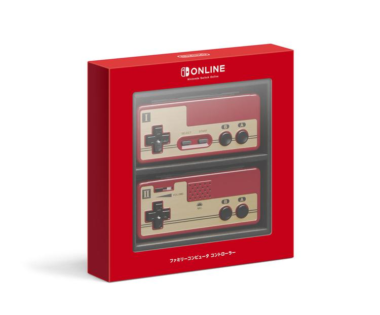 Nintendo Switc专用FC造型手柄公布 回味童年经典乐趣