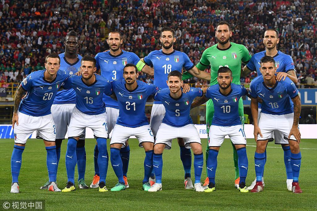 意大利对阵波兰的首发阵容