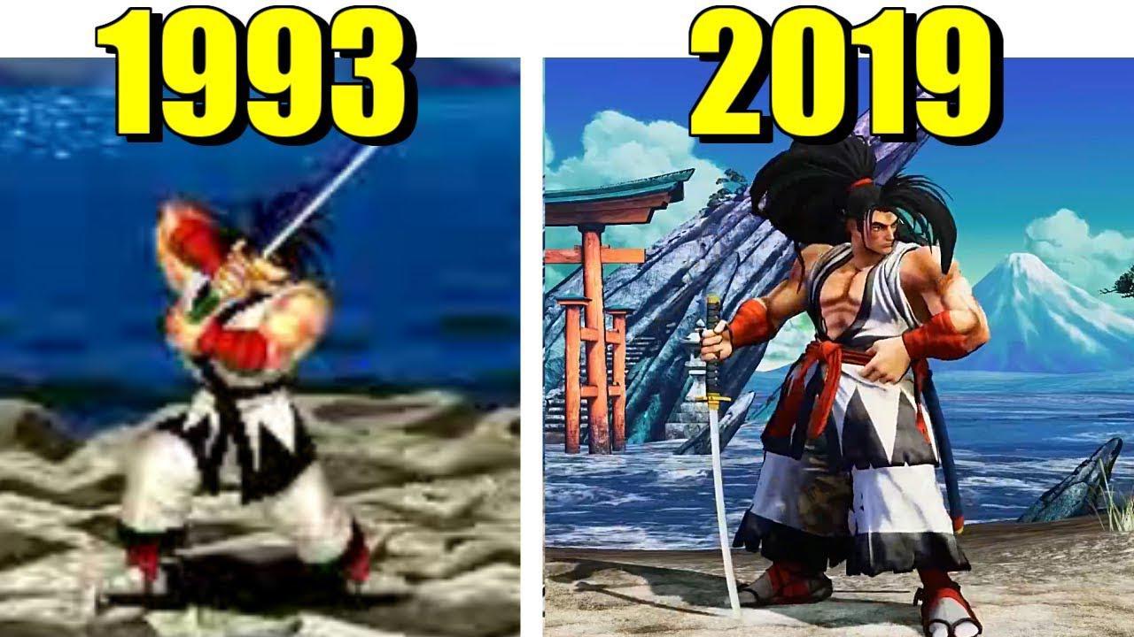 《侍魂》《拳皇》等历代20多年视频合集 童年格斗进化史