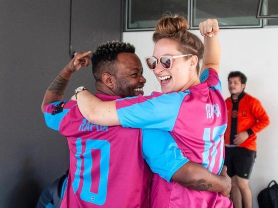 世界首支变性人足球队:我们时刻担心被强暴和殴打