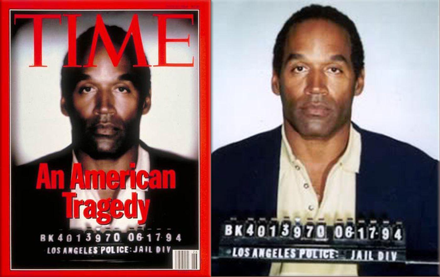 《时代周刊》封面因为给辛普森图片加了滤镜而引起巨大争议。