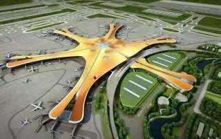 北京大兴国际机场揭秘:一次建4条跑道