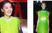 王菲穿荧光裙变小仙女