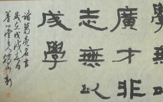 有态度°桂林人|赵仰新:骨子里对书法的热爱从来没丢