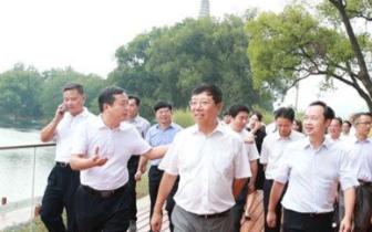 赵乐秦在七星区调研时强调项目建设要突出文旅融合