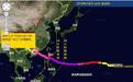 """气象台:""""山竹""""远离风雨仍较大 最大阵风仍有7-9级"""