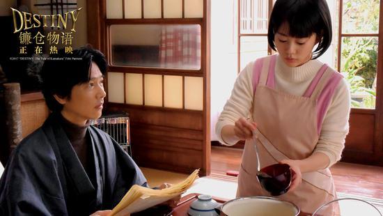 一色夫妇呈现一碗汤的温馨