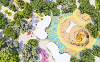 【松湖碧桂园·天鉆】4400㎡专属乐园 提高孩子合作意
