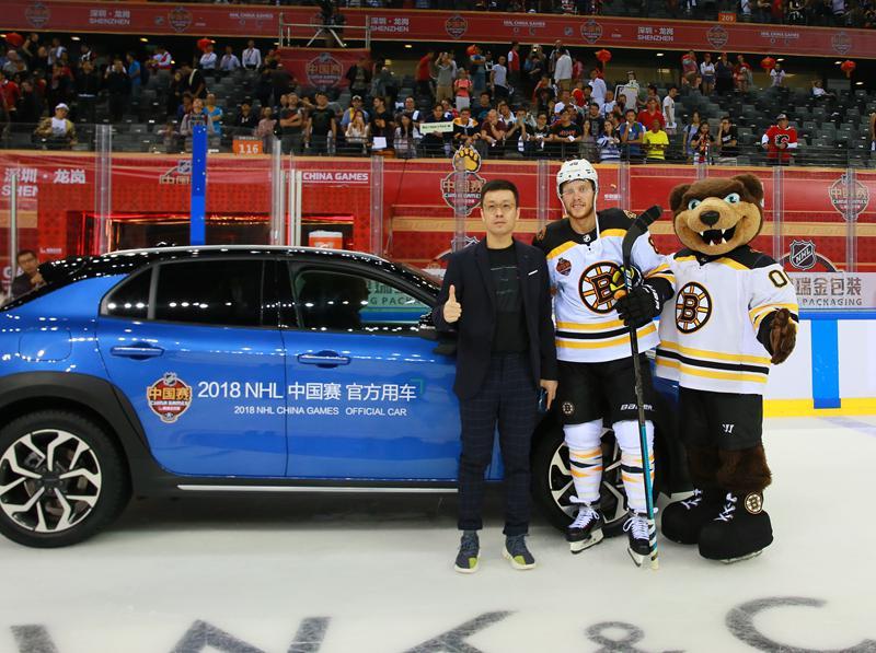 领克携手北美冰球联赛 助力冰雪运动中国推广