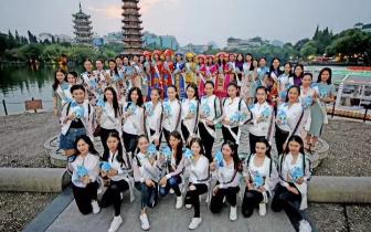 国际小姐桂林旅游采风之旅 60位佳丽靓照不断曝出