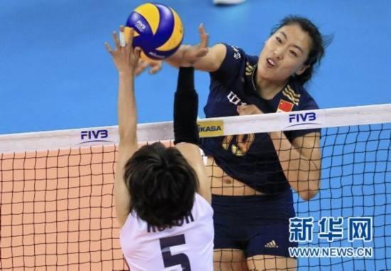 亚洲杯中国女排3