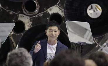 """首位私人""""环月旅行者""""是日本""""文艺""""富豪"""
