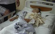 6岁女童独自在家 被邻居用刀砍伤