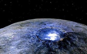 """NASA""""黎明""""号发现谷神星冰火山""""从未沉默"""""""