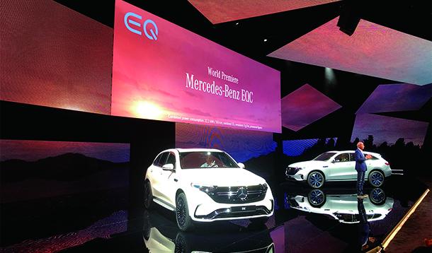 新能源汽车大战:奔驰首款电动车被指电池技术落后