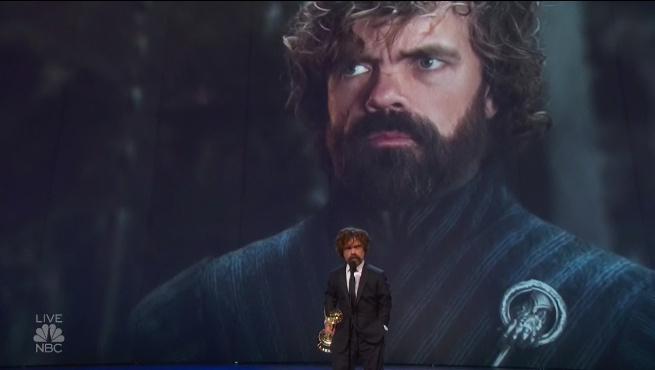 《权力的游戏》小恶魔获艾美奖最佳男配角