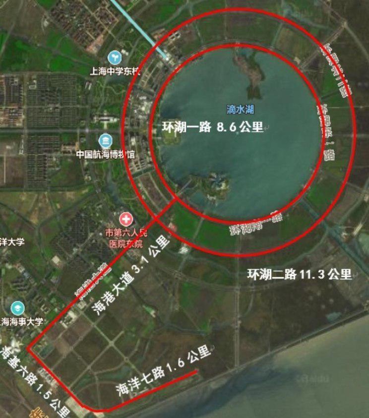 临港开放测试道路示意图 图片来自网络
