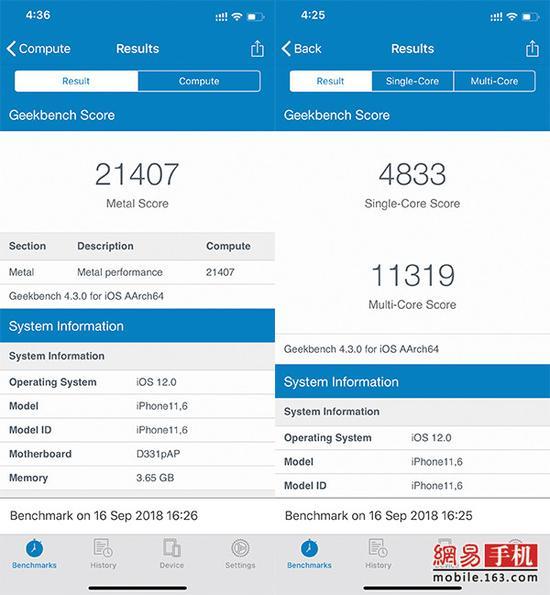 iPhone XS/XS Max评测