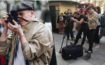 大布街头当摄影助理