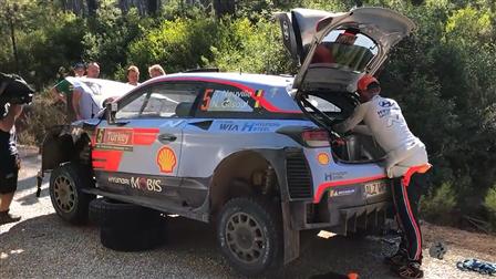 2018赛季WRC修车纪实