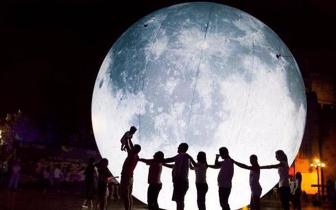 上周末巨型月亮降临龙岩 这可能是你离月球最近的一次