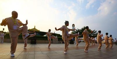 第三届世界太极文化节在三亚南山开幕