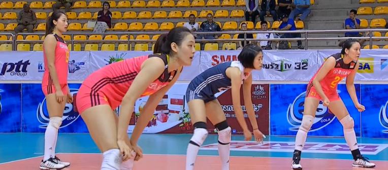 女排亚洲杯中国3-0横扫伊朗 进半决赛约战泰国