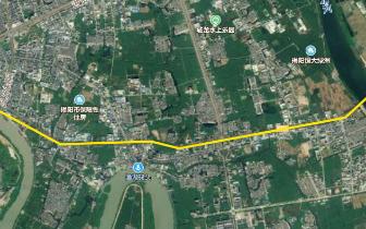 2020年8月建成通车 揭阳望江北路空港段将这样改造建设