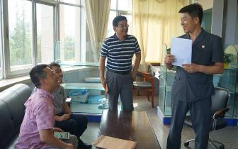 琼中县营根司法所成功调解一宗拖欠农民工工资案件