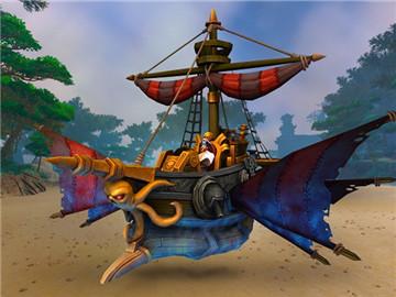 魔兽限时特惠活动  充值半年卡赠送超酷海盗船坐骑