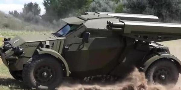 俄军小车时速150公里可带8发导弹