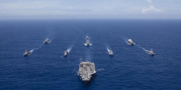 美国海军又在西太平洋秀武力