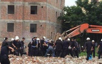 镇政府|广东怀集镇干部拆违遭砍致2死3伤 5人被刑拘