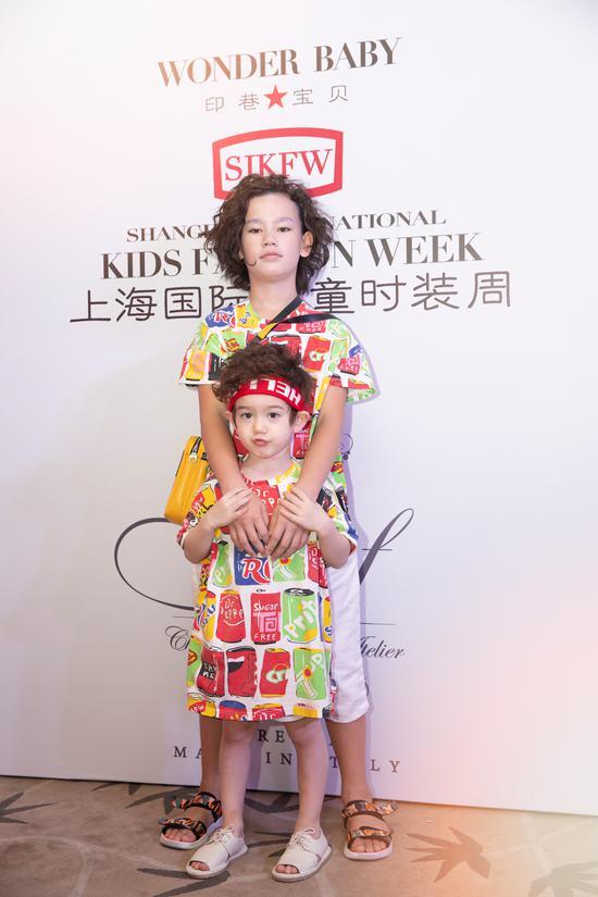 意大利品牌Caf再度亮相上海国际儿童时装周
