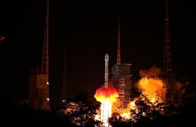 中国成功发射两颗北斗三号卫星