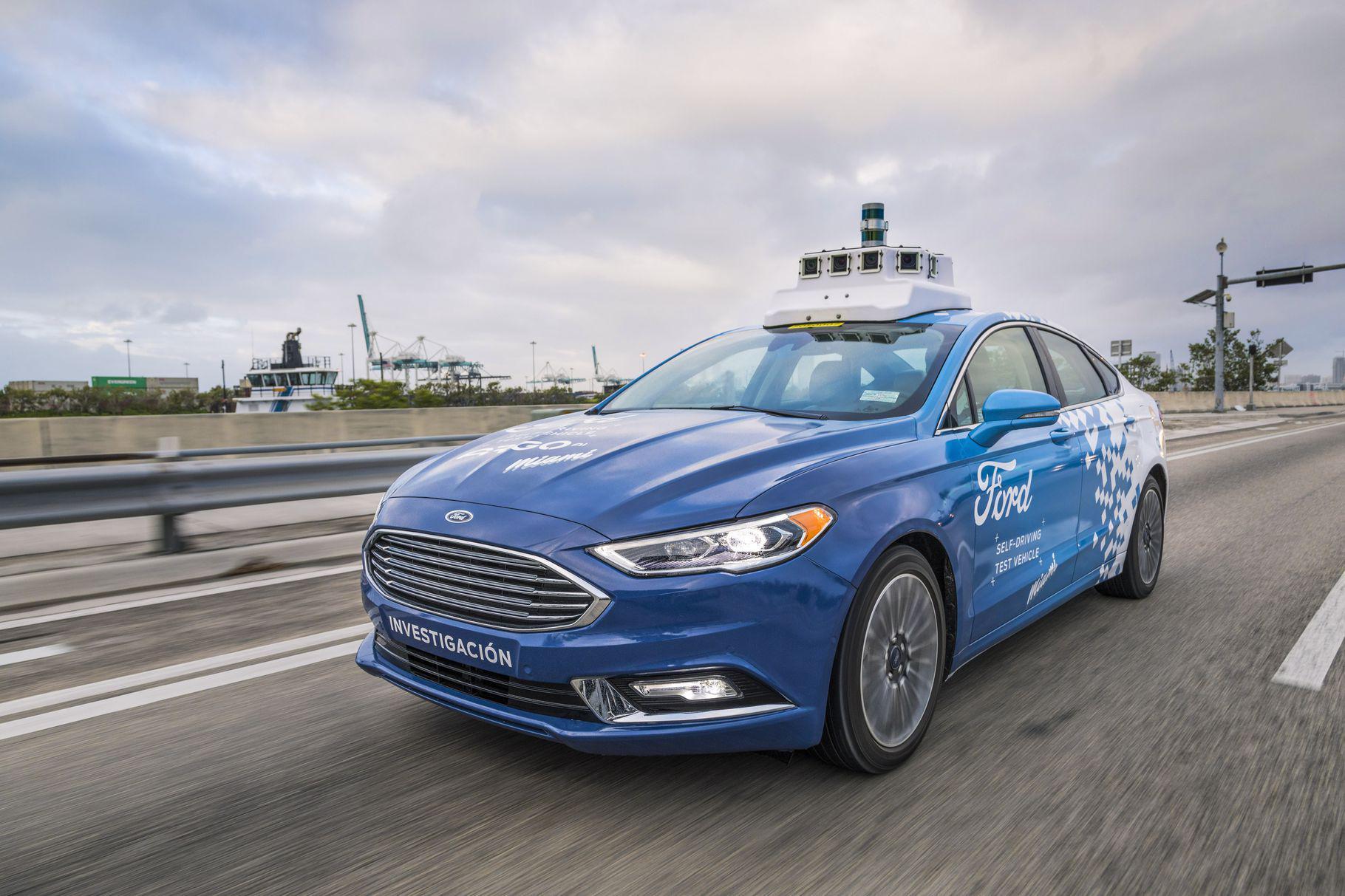 福特首款全自动驾驶汽车或是SUV 或在2021年发布