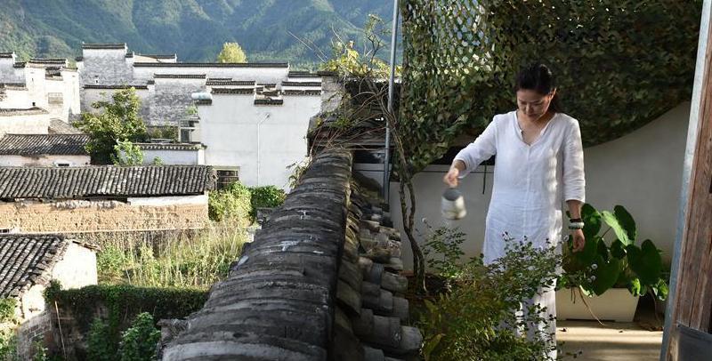 安徽黟县:留住乡愁的古民居