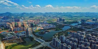 载梦腾飞 西进造城 解读临桂新区五年发展之大成