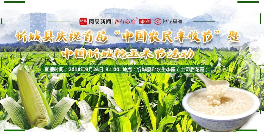 中国农民丰收节暨忻城糯玉米节引爆全城