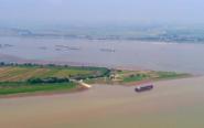 鄱阳湖提前进入枯水期