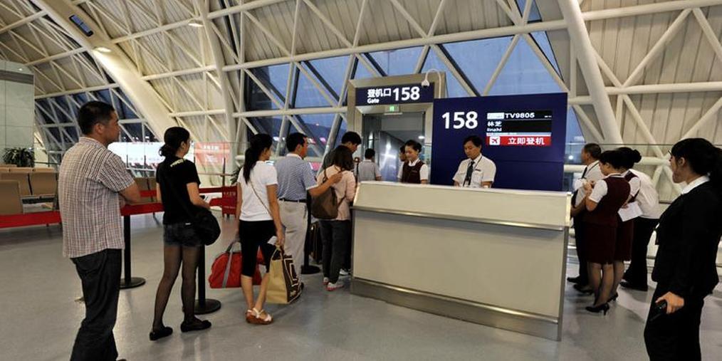 """""""双节""""期间将有105万人在连起飞 乘机出行要赶早"""