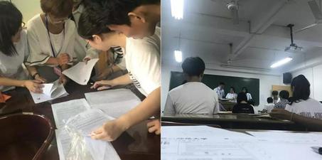 记者卧底考场 100来人考试80人替考
