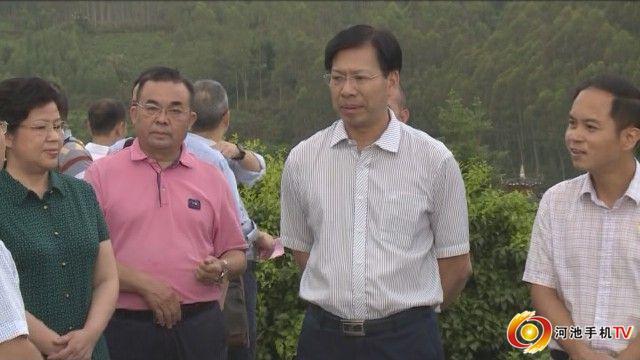 自治区政协副主席刘慕仁到环江调研脱贫攻坚