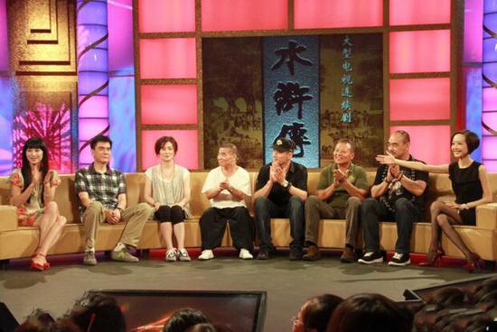 2011年,98版《水浒传》的导演和主演曾在《鲁豫有约》节目中有过一次重聚