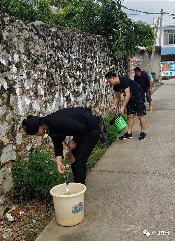 北山镇扮靓环境喜迎中秋国庆 卫生清洁整治活动